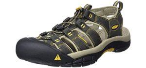 Keen Men's Newport H2 - Sandal for Mortons Neuroma