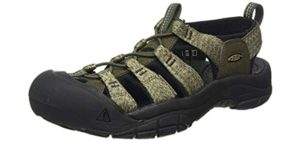 Keen Men's Newport H2 - Outdoor Sandal for Plantar Fasciitis