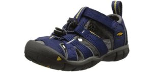 Keen Boys's Sea Camp 2 - Closed Toe Water Sandals for Toddlers