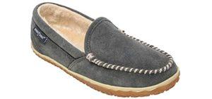 Minnetonka Women's Tempe - Indoor Outdoor Narrow Fit Slippers