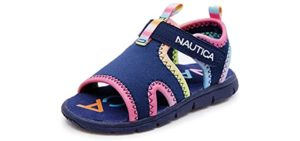 Nautica Women's Sports - Toddler Sports Sandal