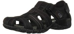 Nun Bush Men's Rio Bravo - Cracked Heel Support Sandals