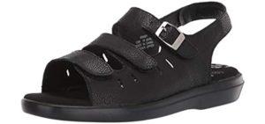 Propet Women's Breeze Walker - Morton's Neuroma Sandals for Walking