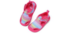 Ranly & Smily Girls's Nerteo - Kids Snorkelling Sandals