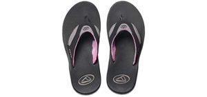 Sanuk Women's Yoga Mat - Comfortable Flip Flop for Athlete's Foot