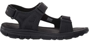 Skechers Men's Ankle Strap - fashionable Sandals for Europe