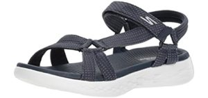 Skechers Women's On The GO 600 - Sports Sandals for Overweight Individuals