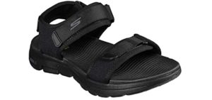 Skechers Men's Open Toe - Casual Sandal For Traveling