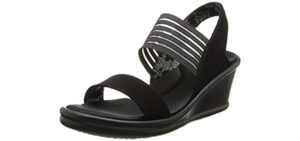 Skechers Women's Rumblers Rock Solid - fashionable Sandals for Europe