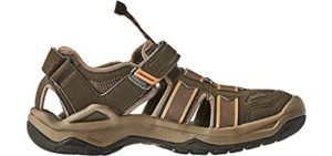 Teva Men's Omnium - All terrain Long Distance Walking Sandal