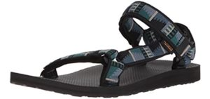 Teva Men's Original - Sports Sandal for Heel Spurs