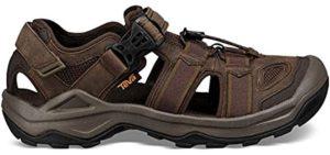 Teva Men's Omnium - Sandals for Flat Feet