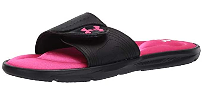 Under Armour Women's Ignite - Flat Sole Slide Sandal