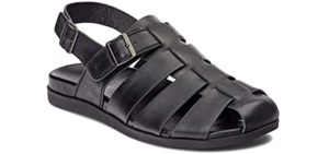 Vionic Men's Ludlow - Hip Pain Dress Sandal