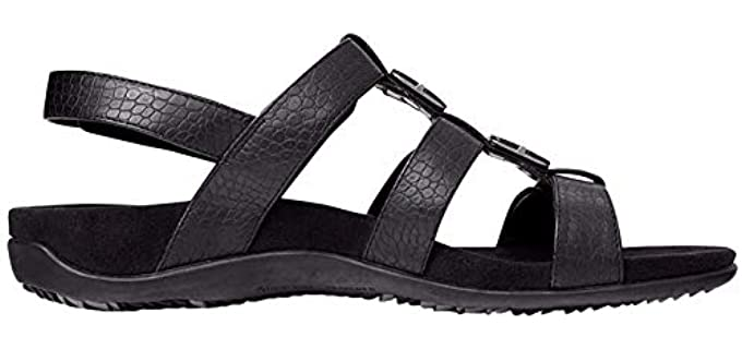 Vionic Women's Amber - Dress Sandals for a Cruise Ship
