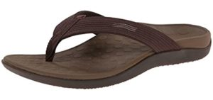 Vionic Women's Wave Toe - Arch Support Athletes Foot Flip Flops