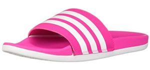 Adidas Women's Adilette - Open Toe Slide Sandal
