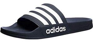 Adidas Men's Adilette - Open Toe Slide Sandal