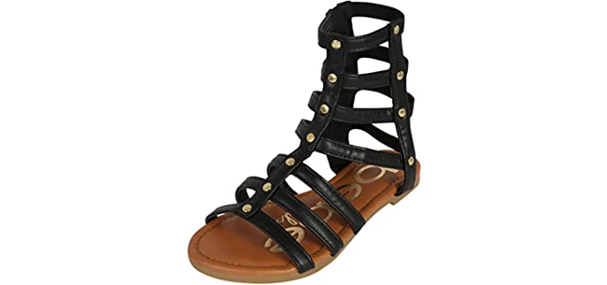Bebe Grils Girls's  - Gladiator Sandals for Little Grils