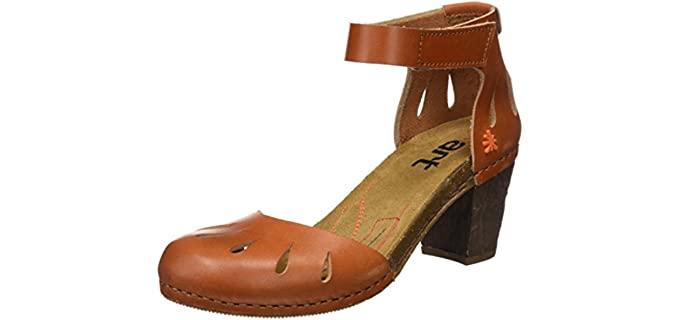 Art Women's Closed Toe - Dress Sandals for Long Toes