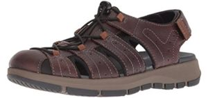 Clarks Men's Brixby Cove - Sandals for Teachers