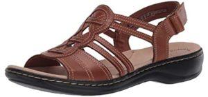 Clarks Women's Leisa Janna - Sandals for Teachers