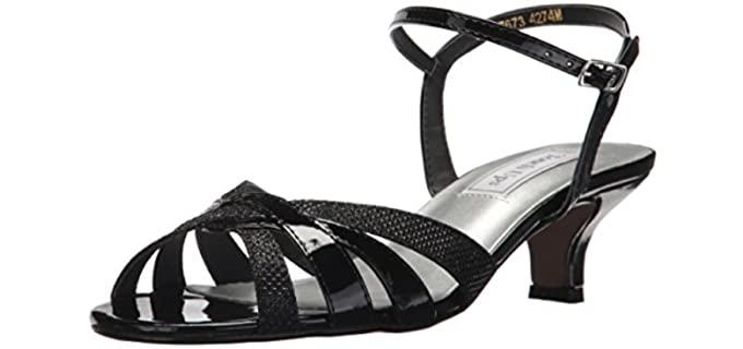 Touch Ups Women's Jane - Low Heel Sandals for Weddings