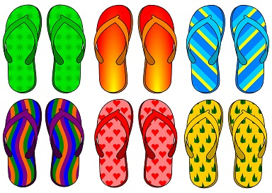 Flip Flops Are My favorite Summer Shoes