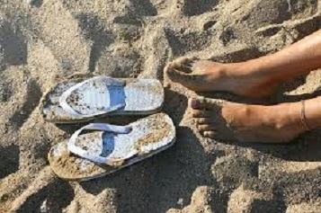 There are Three S's to Summer, Salty, Sandy and Sandals