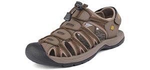 Dream Pairs Men's Adventurous - Outdoor Backpacking Sandal