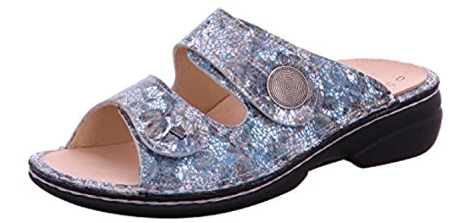 Finn Comfort Women's Sansibar - Elegant Slide Sandals