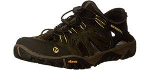 Merrell Men's all Out Blaze Sieve - Hiking Sandal for Backpacking