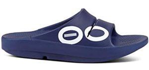 Oofos Women's OOahh - Podiatrist Recommended Slide Sandal