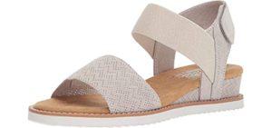 Skechers Women's Desert Kiss - Dressy Memory Foam Sandal