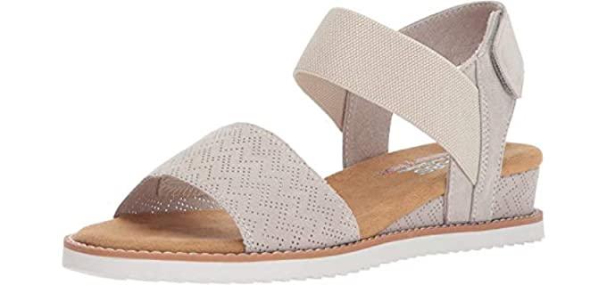 Skechers Women's Desert Kiss - Dress Flat Sandal