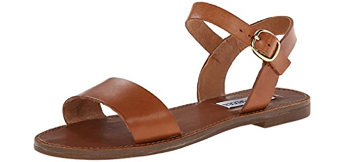 Summer Flat Sandal Leather