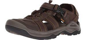 Teva Men's Omnium 2 - Leather Closed Sandal