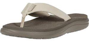 Teva Women's Voya Flip - Leather Flip Flop Sandal
