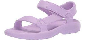 Teva Girls's Hurricane Drift - Water Sandal for Toddlers