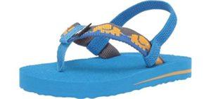 Teva Boys's Mush 2 - Flip Flop Sandal for Toddlers