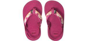 Teva Girls's Mush 2 - Flip Flop Sandal for Toddlers