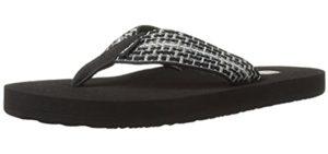 Teva Men's Mush 2 - Flip Flop Sandal for Flat Feet