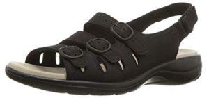 Clarks Women's Saylie Quartz - Dressy Sandals for Extensor Tendinitis