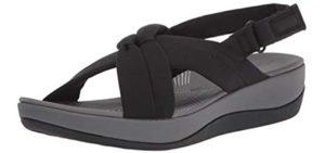 Clarks Women's Arla Belle - Sandals for Swollen Feet