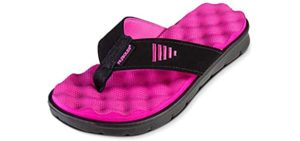 Gone for a Run Women's Recovery - Flip Flop Sandal for Running Recovery
