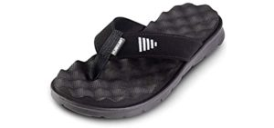 Gone for a Run Men's Recovery - Flip Flop Sandal for Running Recovery