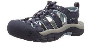 Keen Women's Newport H2 - Sports Sandals for Extensor Tendinitis