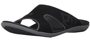 Spenco Women's Marfa Wedge - Dressy Sandal for Smelly Feet