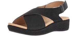 Spenco Men's Kholo Slide - Dressy Sandal for Smelly Feet