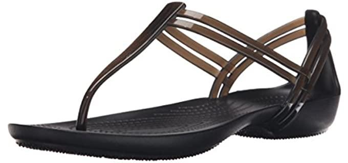 Crocs Women's Isabella - T-Strap Sandals